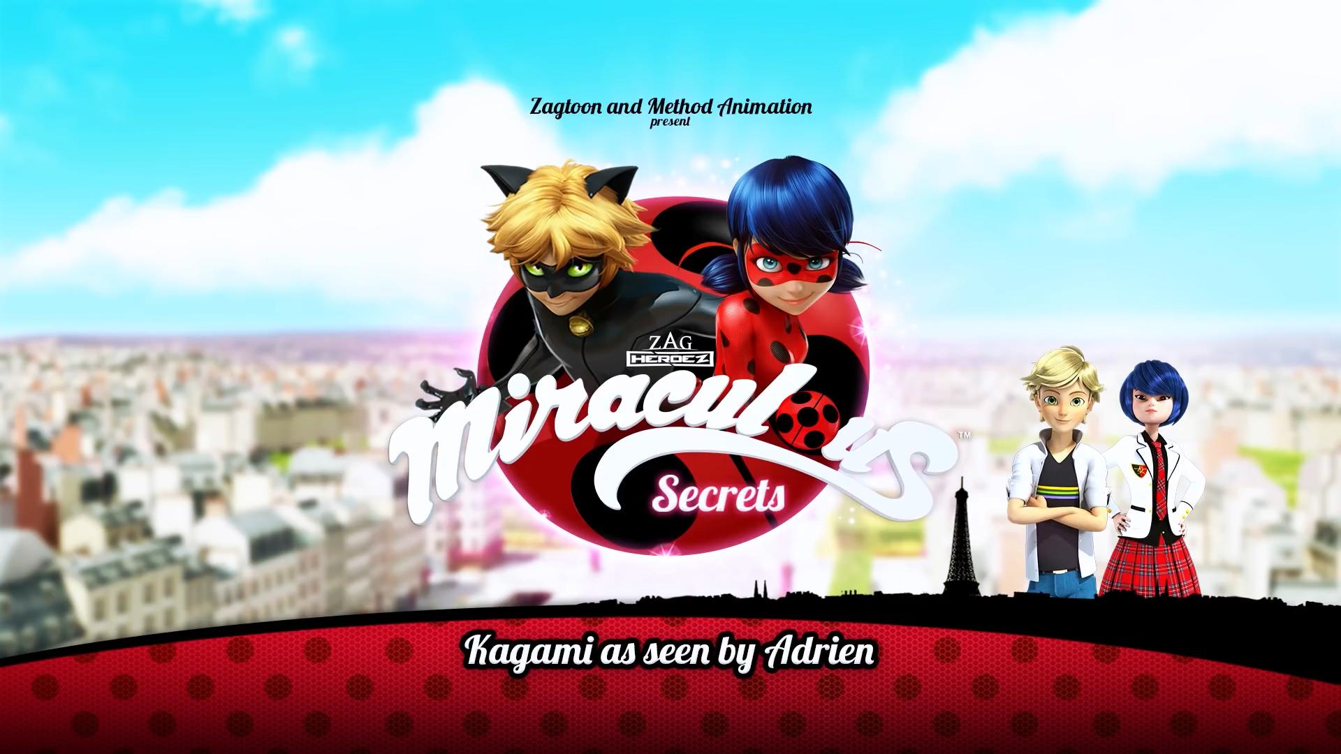 Kagami as seen by Adrien