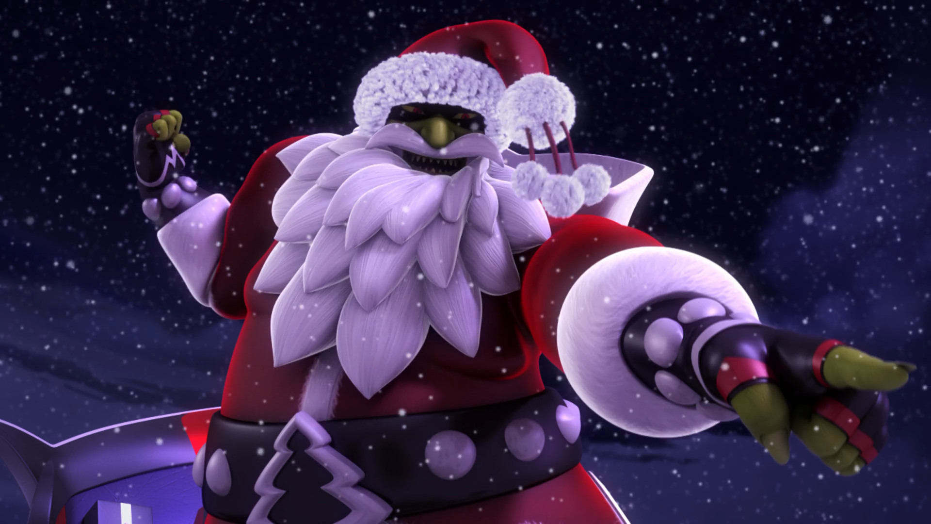 Bad Santa Claws
