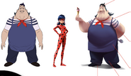 André and Ladybug Concept Art