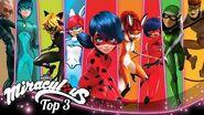 MIRACULOUS 🐞 HEROES 🔝 SEASON 3 Tales of Ladybug and Cat Noir