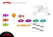 Scarybug - Candy model sheet