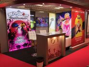 ON's booth at MIPTV