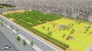 Jardin des Tuileries background concept art
