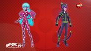 Ladybug & Cat Noir Space Powerup Concept Art