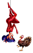 Ladybug Thanksgiving turkey by Angie Nasca