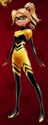 Queen Bee's Alternate Hair Concept
