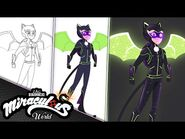 MIRACULOUS - 💫 ASTROCAT - SPEED DRAWING ✍ - Tales of Ladybug and Cat Noir
