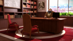 Click here to view the image gallery for Mr. Damocles' office.