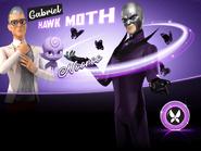3D Gabriel AKA Hawk Moth & Nooroo