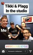 Mela, Max and Ezra Recording