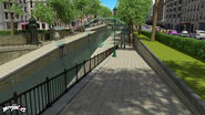 Canal saint Martin background concept art 5