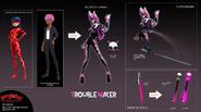 Troublemaker Concept Art
