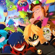 Zagtoon characters artwork