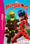 Miraculous French chapter book - Ladybug versus Spider cover