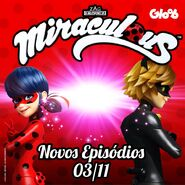 Miraculous S2 Announcement - Gloob (Brazil)