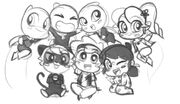 ChibiZag Group Sketch.jpg
