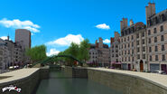 Canal saint Martin background concept art 6