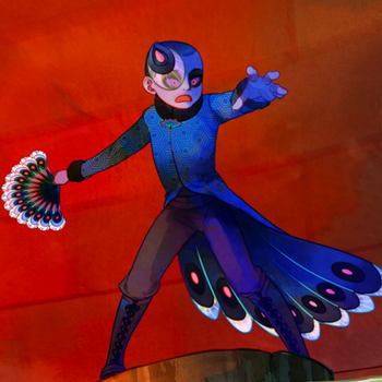Peacock Miraculous holder