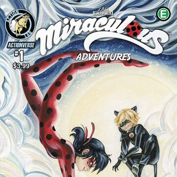 Comics ladybug and chat noir Miraculous: Tales