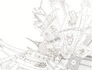 City of Paris linework concept art