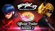 Miraculous S2 Official Trailer