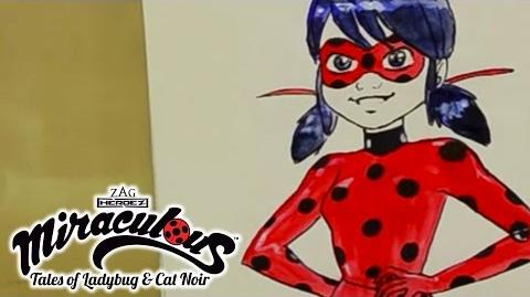 Miraculous Ladybug - Speed Drawing Tales of Ladybug and Cat Noir