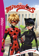 Miraculous French chapter book - Mister Bug and Lady Noire cover