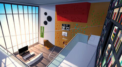 Click here to view the image gallery for Adrien's room.