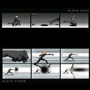 Cat Noir Black Storm and Black Hole concept art