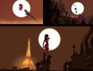Concept Ladybug and Cat Paris