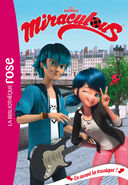 Miraculous French chapter book - The Music is On cover