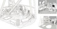 Ladybug Artbook Marinette's Room