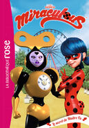 Miraculous French chapter book - The Secret of Master Fu cover