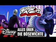 MIRACULOUS SUPERSCHURKEN TAG - Alles über die Bösewichte - Disney Channel 🐞🐱