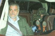 6-10-17 Leaving Giorgio Baldi Restaurant in LA 001