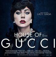 House of Gucci character poster Patrizia 001-square