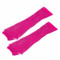 Leg Avenue - Pink fishnet gloves
