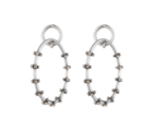 Dannijo - ''Harper'' hoop earrings