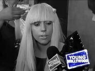 Lady Gaga - Poker Face Music Video (YOUNGHOLLYWOOD
