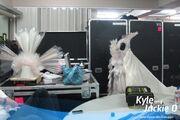 Kyle and Jackie O - Living dress BTS 002