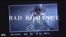 Bad romance - Behind the scenes 002
