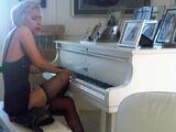 7-13-10 Playing John Lennon's Piano 001