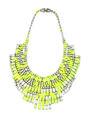 Tom Binns - Slap Dash crystal bib necklace