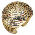 Cartier - Lights of the World gold cuff