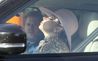 10-7-16 Filming Carpool Karaoke with James Corden in LA 003