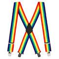 Suspender Store - 2-inch suspenders 0-42-Rainbow-2-N