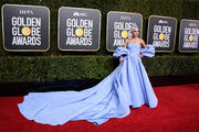 1-6-19 Arriving at the Golden Globe Awards at The Beverly Hilton Hotel in Beverly Hills, CA 001