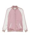 Saint Laurent - Teddy two-tone bomber jacket