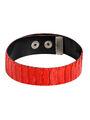 Manokhi - Red python leather signature choker
