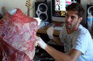 Franc Fernandez - Making of Meat Dress